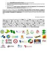 LA DECLARATION DE LA SOCIETE CIVILE AFRICAINE SUR LES RESSOURCES DOMESTIQUES ALLOUEES A LA SANTE