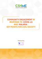 Community Engagement in response to COVID-19 and Malaria - Key points for Civil Society