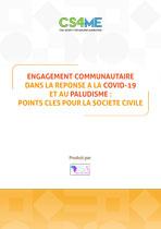 Engagement communautaire dans la réponse à la COVID-19 et au Paludisme - Points clés pour la Société Civile