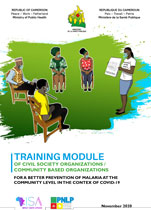 Training Module for a Better Prevention of Malaria at the Community level in the context of COVID-19